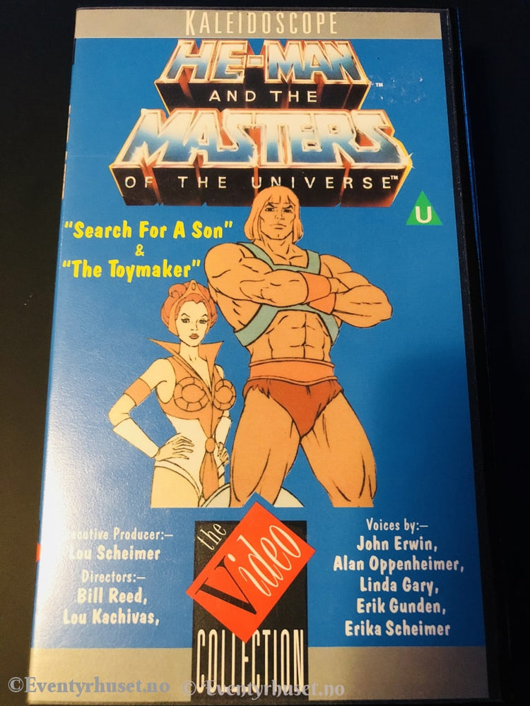 He-Man And The Masters Of The Universe (Motu). 1984. Vhs. Engelsk Tale. Vhs