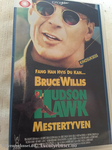 Hudson Hawk - Mestertyven. Vhs Big Box.
