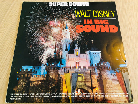 Walt Disney in Big Sound. LP.
