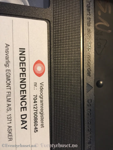 Independence Day. 1996. Vhs. Vhs
