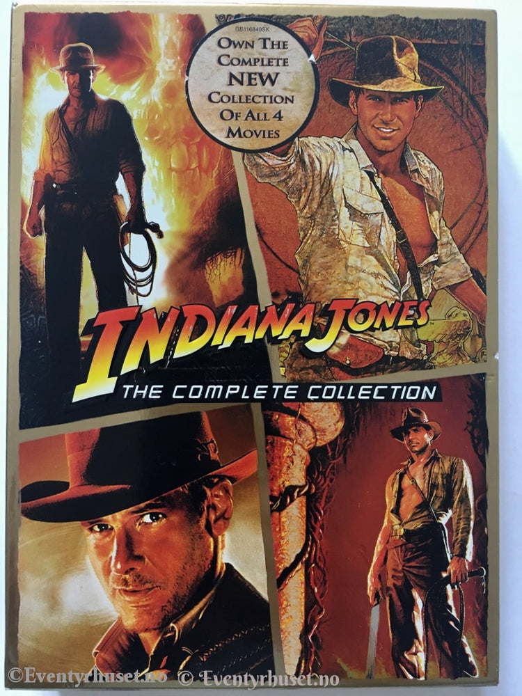 Indiana Jones. The Complete Collection. Dvd. Dvd