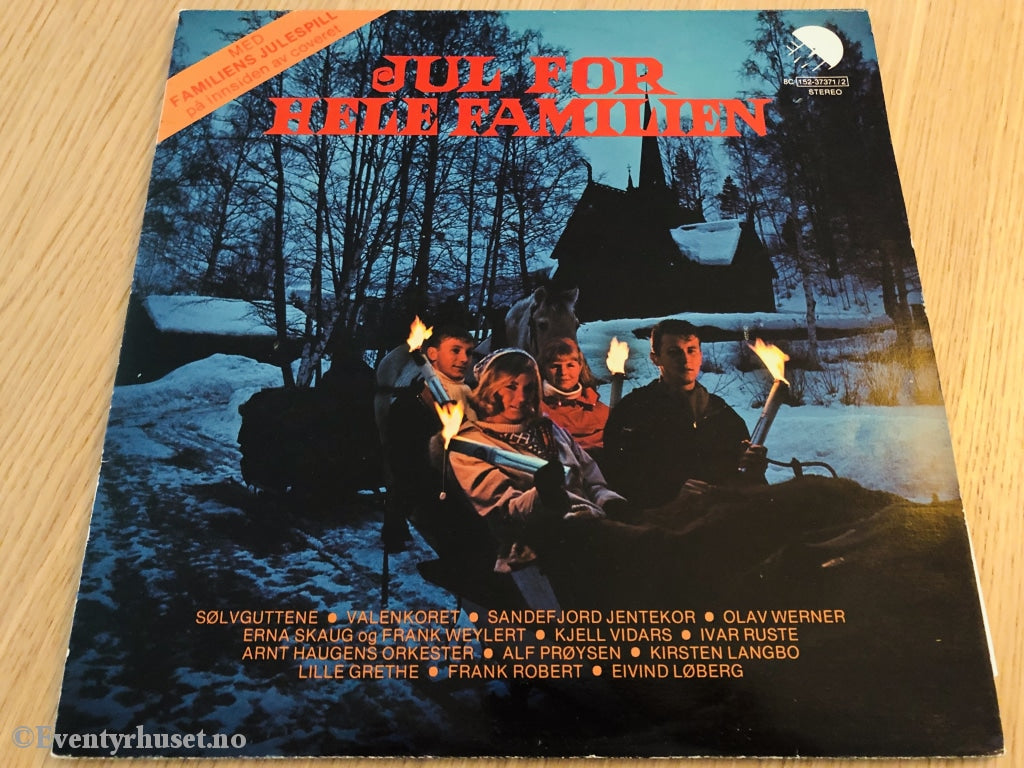 Jul For Hele Familien. 1978. Dobbel Lp. Lp Plate