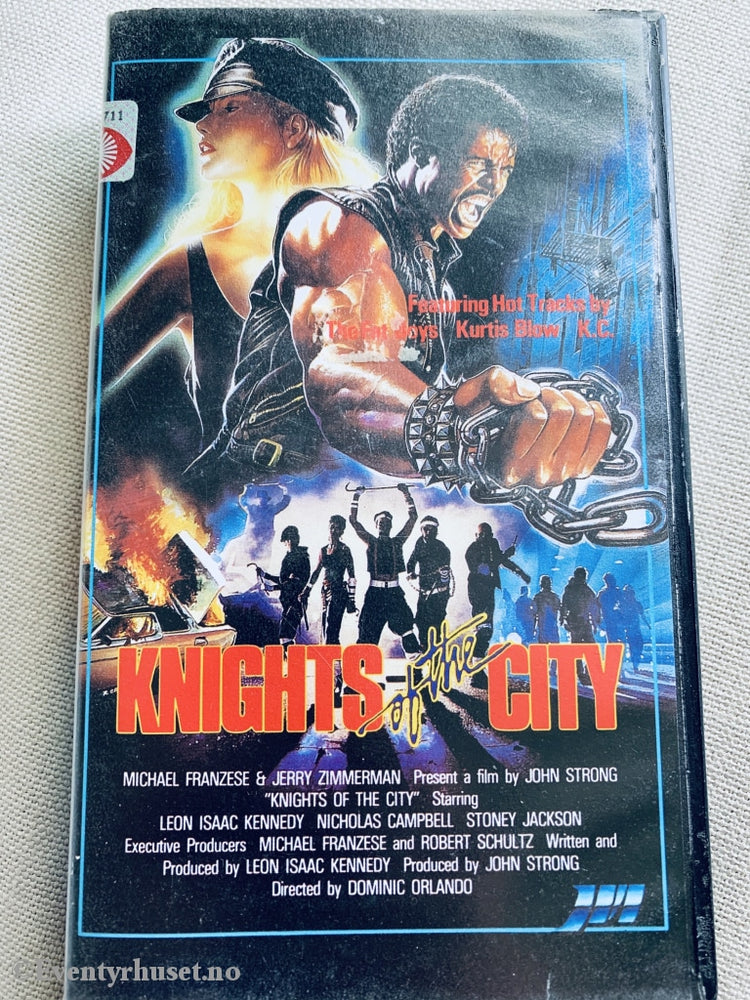 Knights Of The City. Vhs
