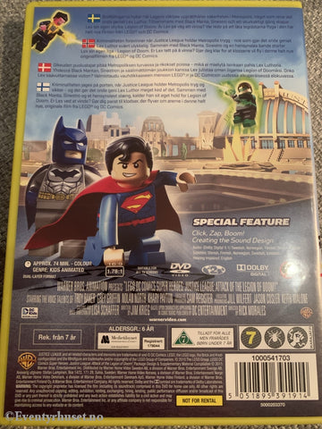 Lego: Justice League - Legion Of Doom. Dvd. Dvd