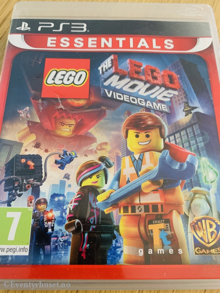 Lego - The Movie Videogame. Ps3. Ps3