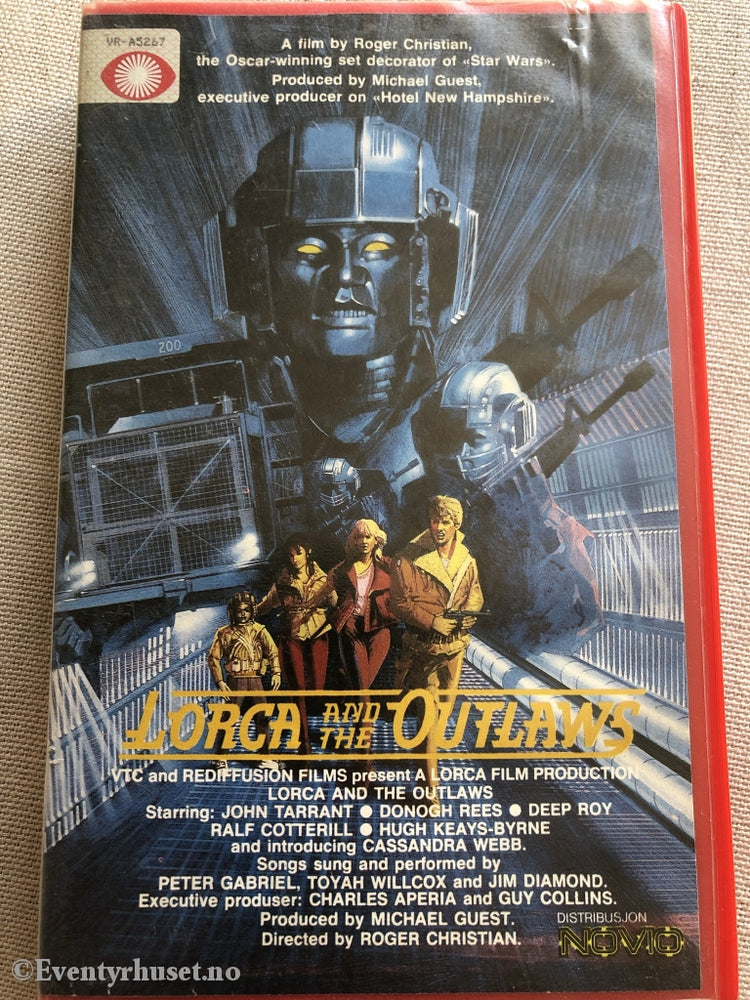 Lorca And The Outlaws. 1985. Vhs Big Box («Starship»).
