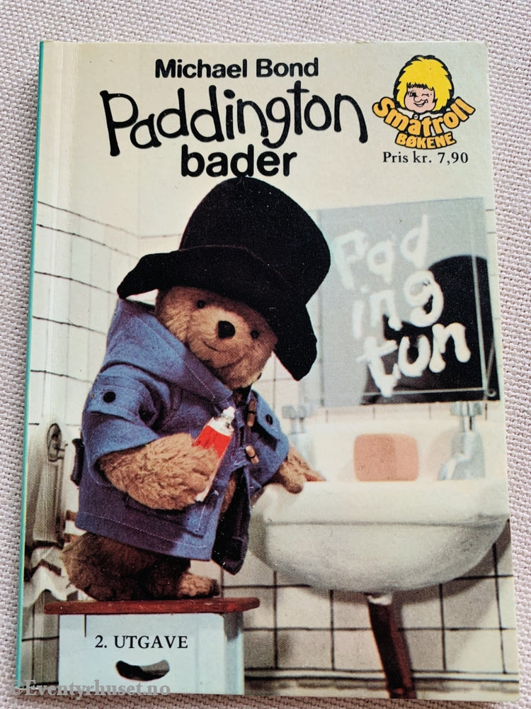 Michael Bond. 1976. Paddington Bader. Småtroll Magasinet. Hefte