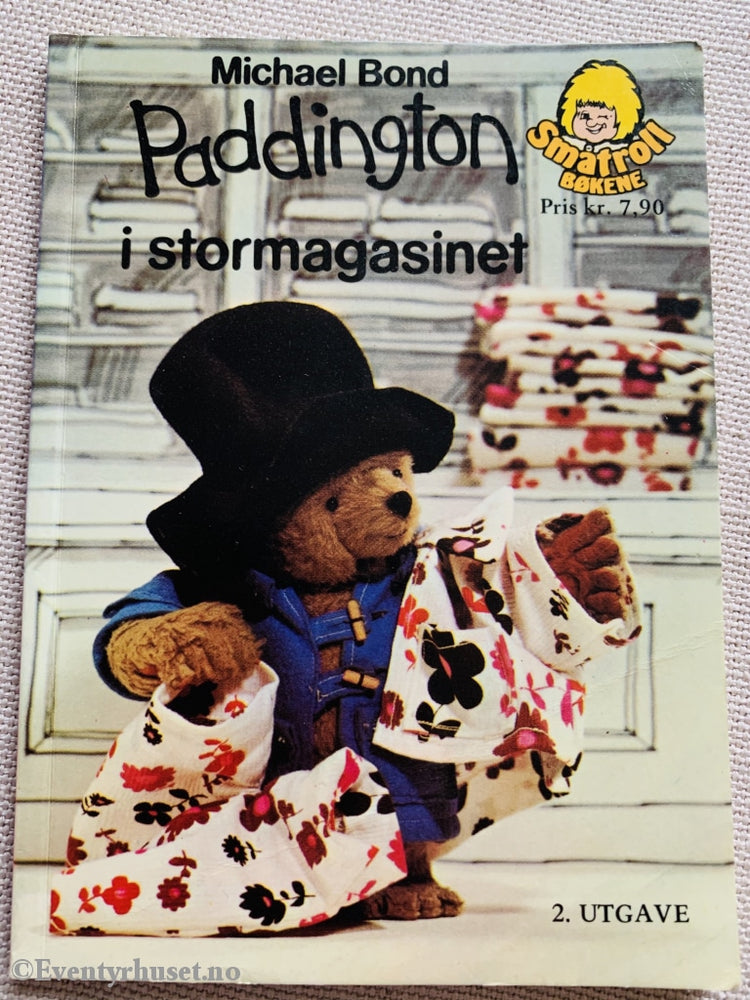 Michael Bond. 1976. Paddington I Stormagasinet. Småtroll Magasinet. Hefte