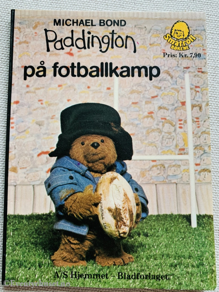 Michael Bond. 1976. Paddington På Fotballkamp. Småtroll Magasinet. Hefte