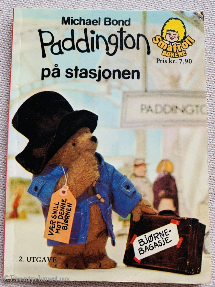 Michael Bond. 1976. Paddington På Stasjonen. Småtroll Magasinet. Hefte