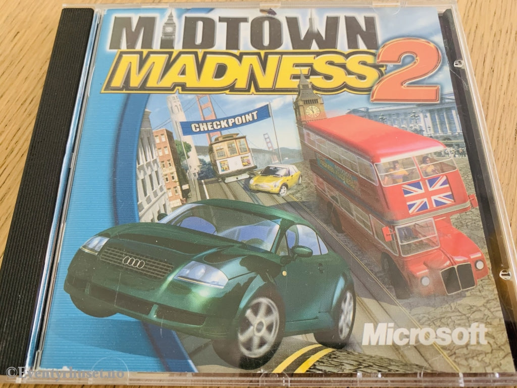 Midtown Madness 2. Pc-Spill. Pc Spill