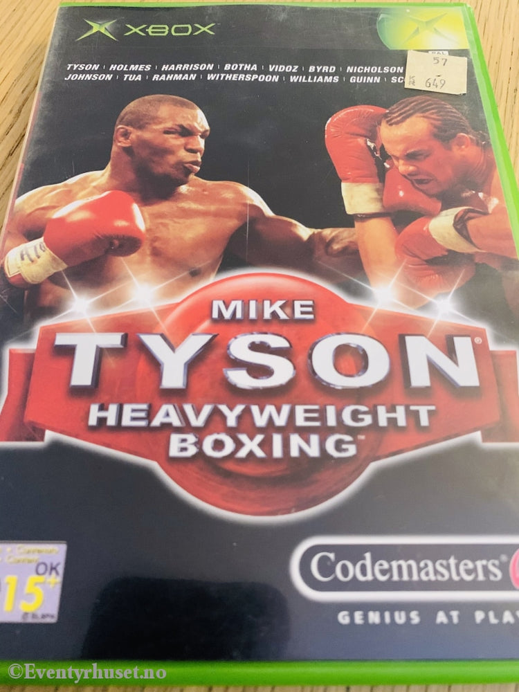Mike Tyson Heavyweight Boxing. Xbox. Xbox