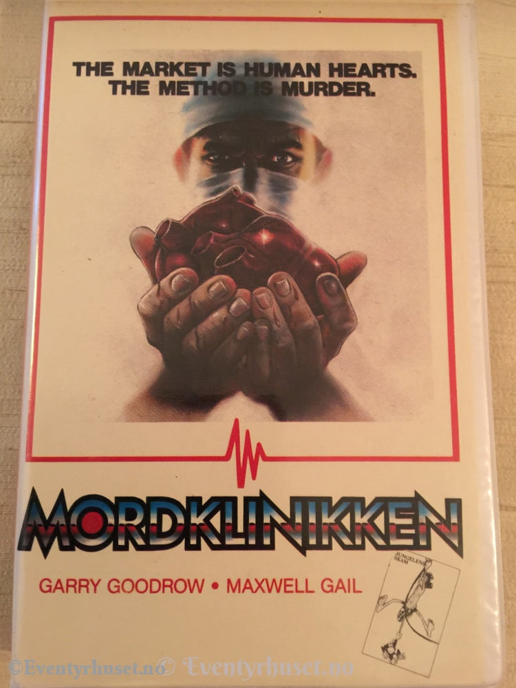 Mordklinikken. Vhs Big Box.