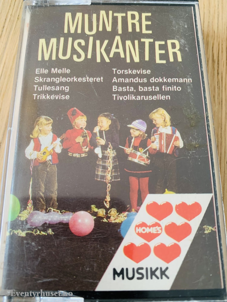 Muntre Musikanter (Homes). Kassett. Kassett (Mc)