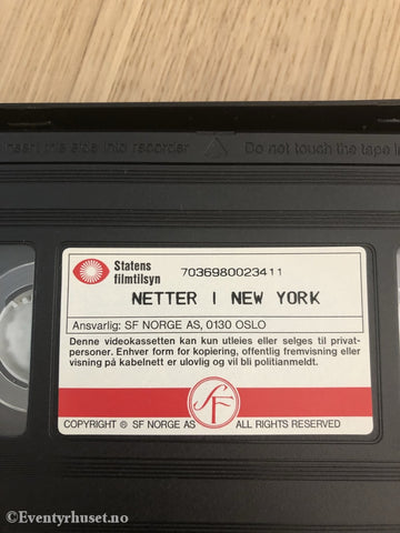 Netter I New York. 1995. Vhs. Vhs