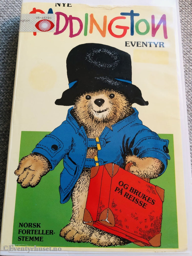Nye Paddington Eventyr. Vhs Big Box.