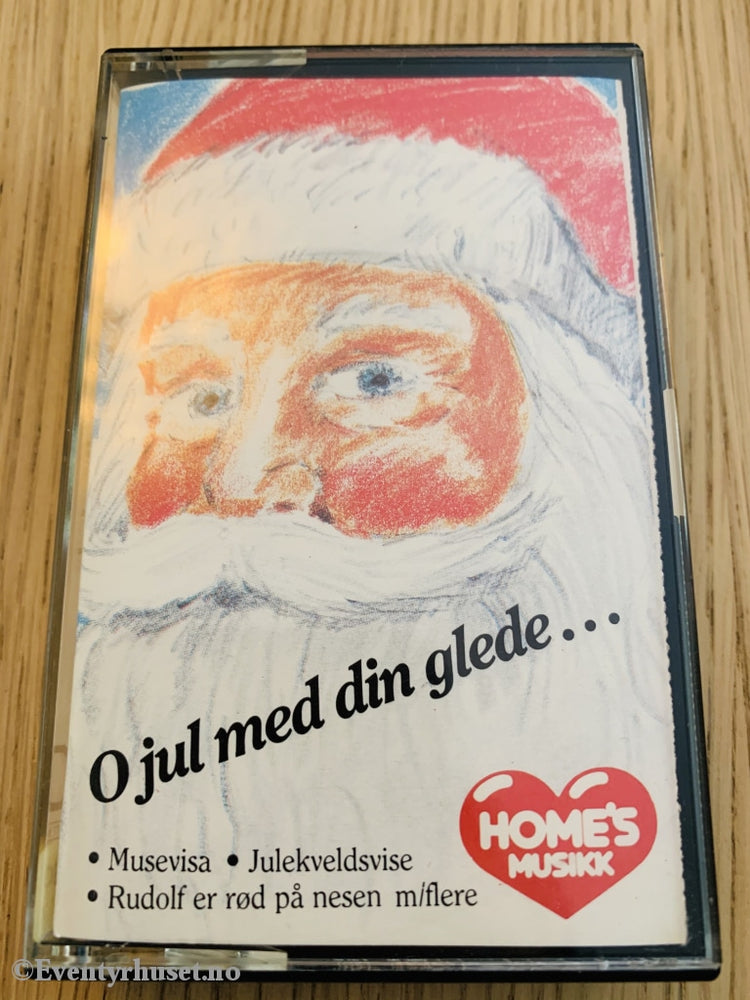 O Jul Med Din Glede (Homes). Kassett. Kassett (Mc)