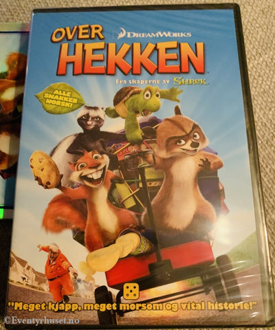 Over The Helge (Over Hekken). 2006. Dvd. Ny I Plast! Dvd