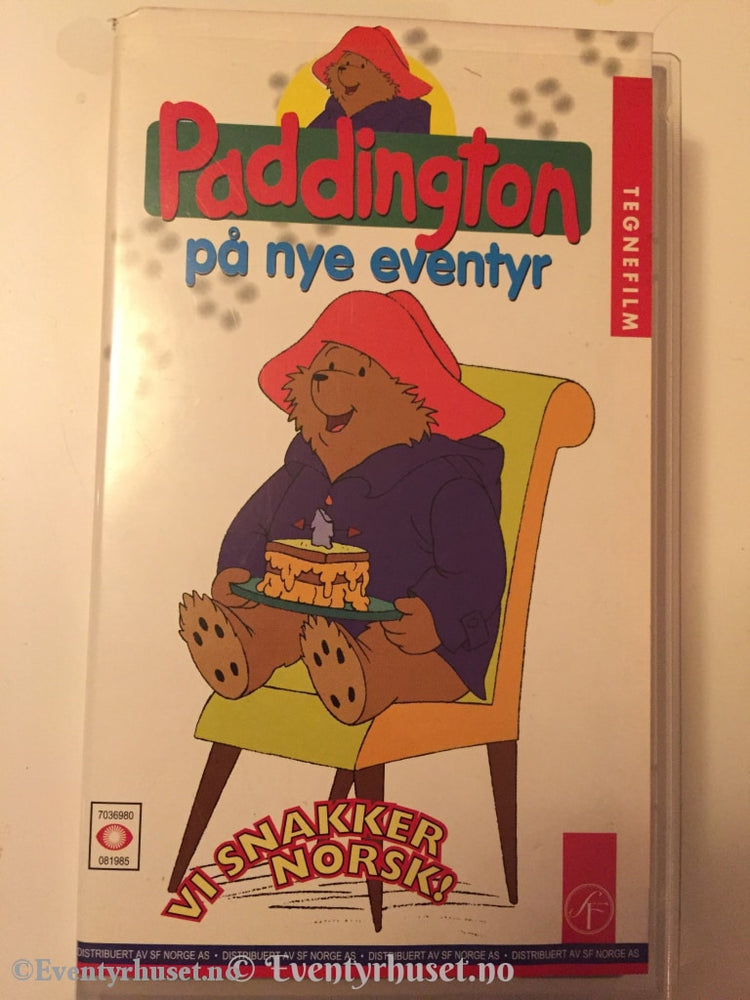 Paddington. 1998. På Nye Eventyr. Vhs. Vhs