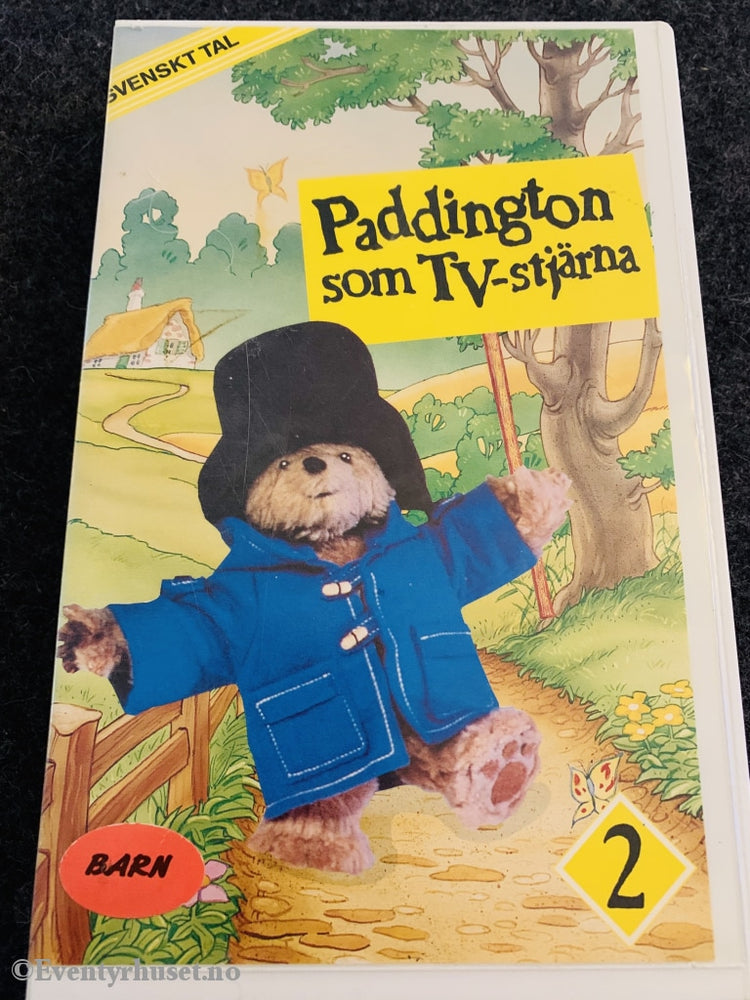 Paddington Som Tv-Stjärna. Vol. 2. 1991. Svensk. Vhs Big Box.