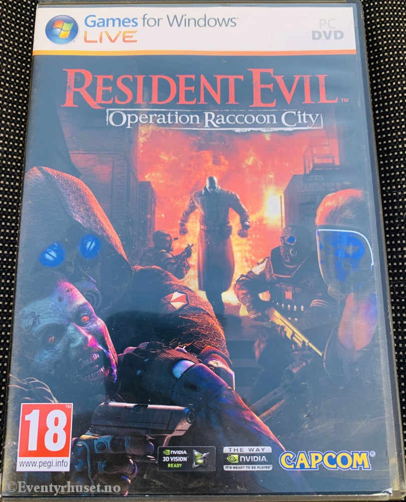 Resident Evil - Operation Racoon City. Pc-Spill. Pc Spill