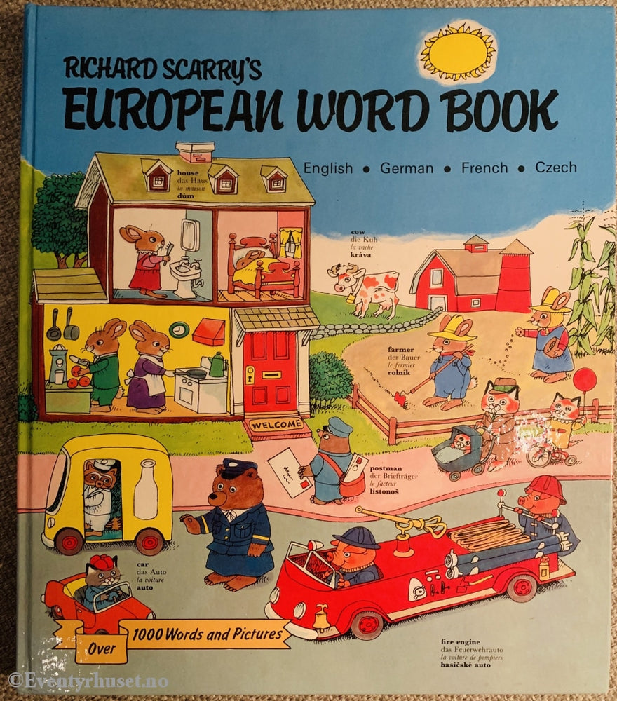 Richard Scarry. 1963/91. European Word Book. Fortelling