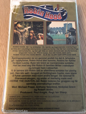 Robin Hood 1. Vhs Big Box.
