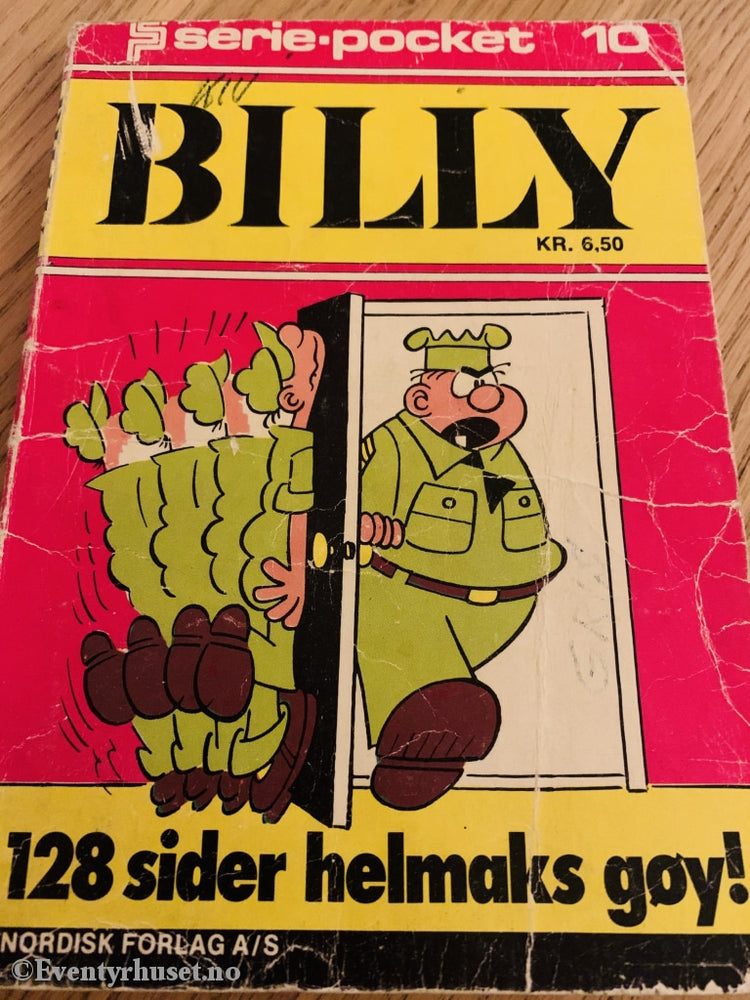 Serie-Pocket 010. Billy.