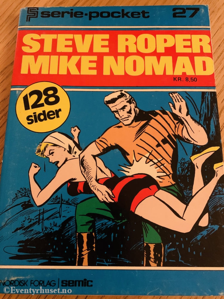 Serie-Pocket 027. Steve Roper Mike Nomad.