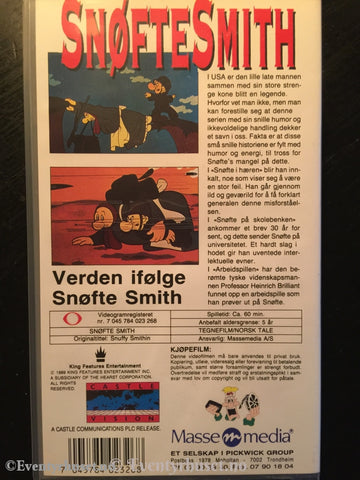 Snøfte Smith. Vhs. Vhs