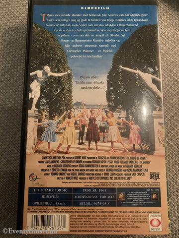 Sound Of Music. 1965. Vhs. Vhs