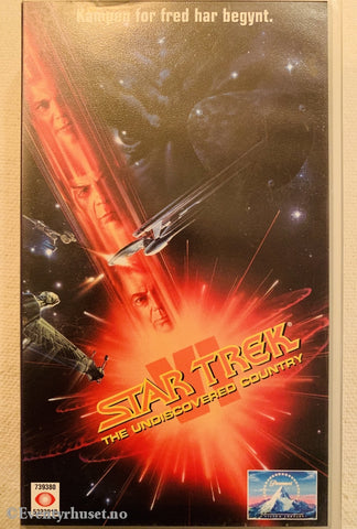 Star Trek 6: The Undiscovered Country. 1991. Vhs. Vhs