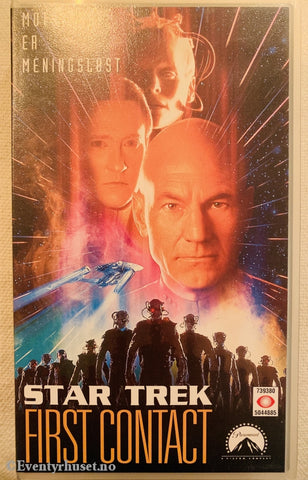 Star Trek - First Contact. 1996. Vhs. Vhs