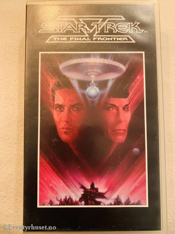 Star Trek: The Final Frontier. 1989. Vhs. Vhs