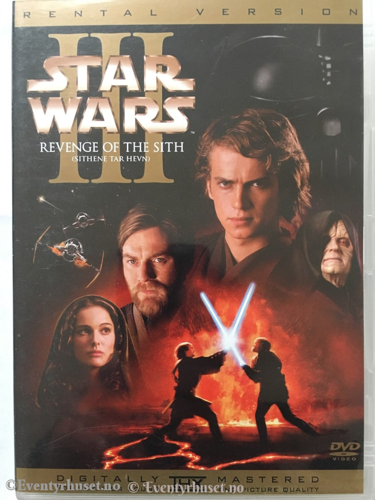 Star Wars Iii: Revenge Of The Sith. Dvd. Dvd