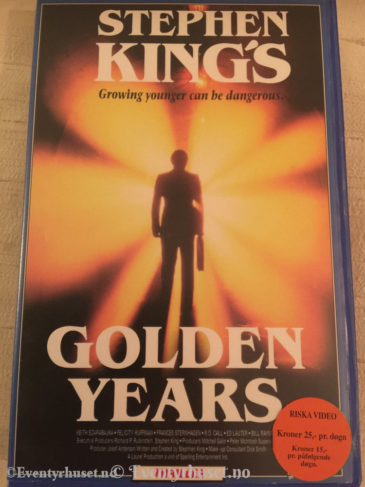 Stephen King´s Golden Years. Vhs Big Box.