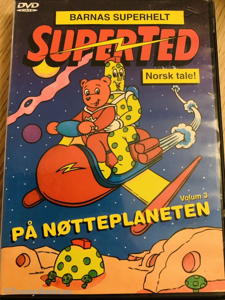 Superted Vol. 1. På Nøtteplaneten. Dvd. Dvd