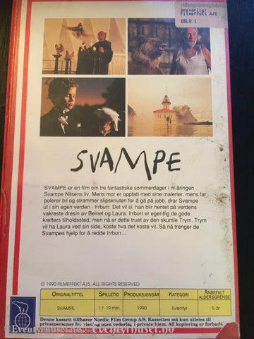 Svampe. Vhs Big Box.
