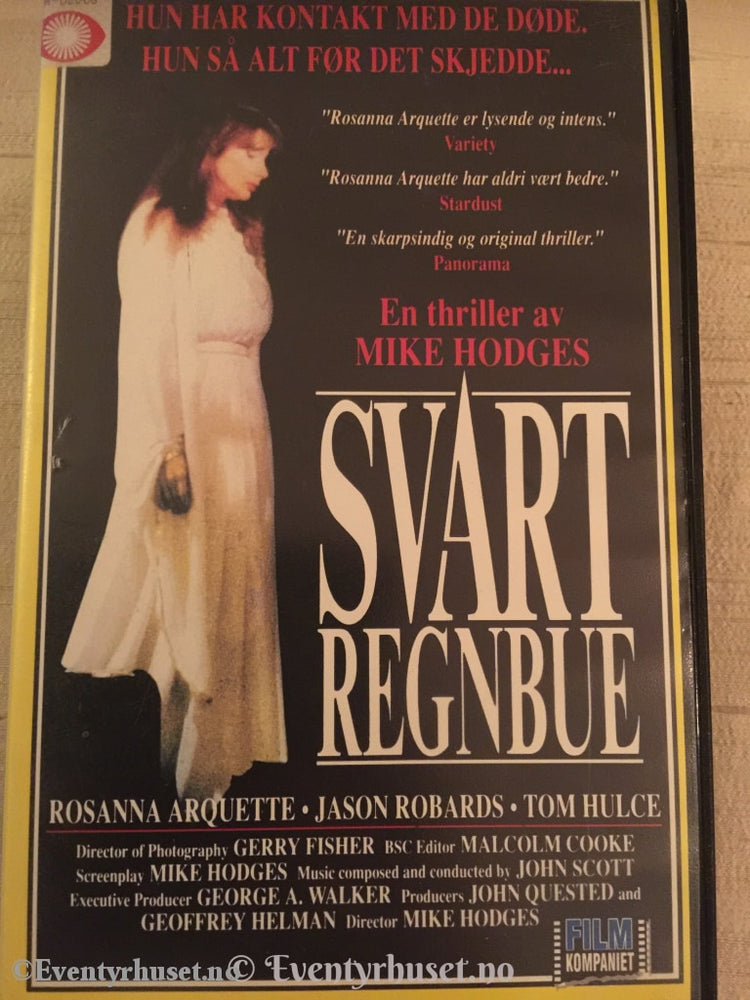 Svart Regnbue. Vhs Big Box.
