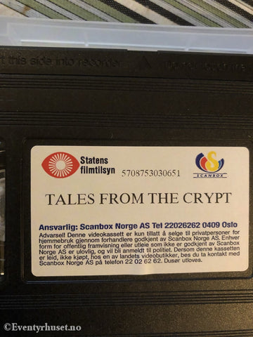Tales From The Crypt. 1994. Vhs. Vhs