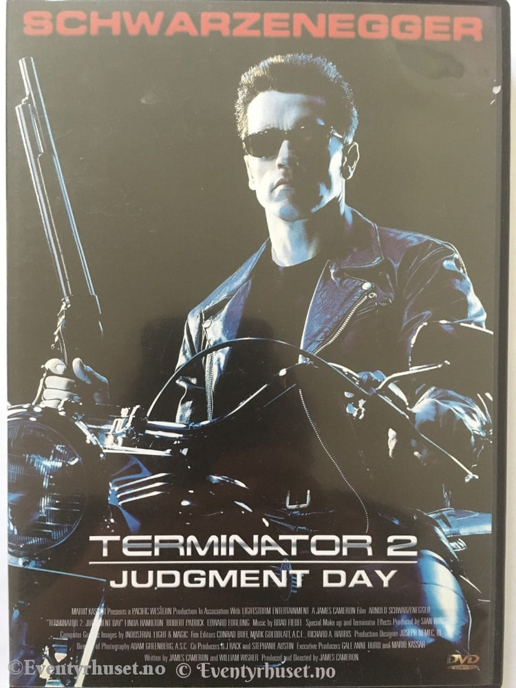 Terminator 2 Judgment Day. Dvd. Dvd