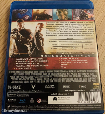 Terminator - Salvation. Blu-Ray. Blu-Ray Disc