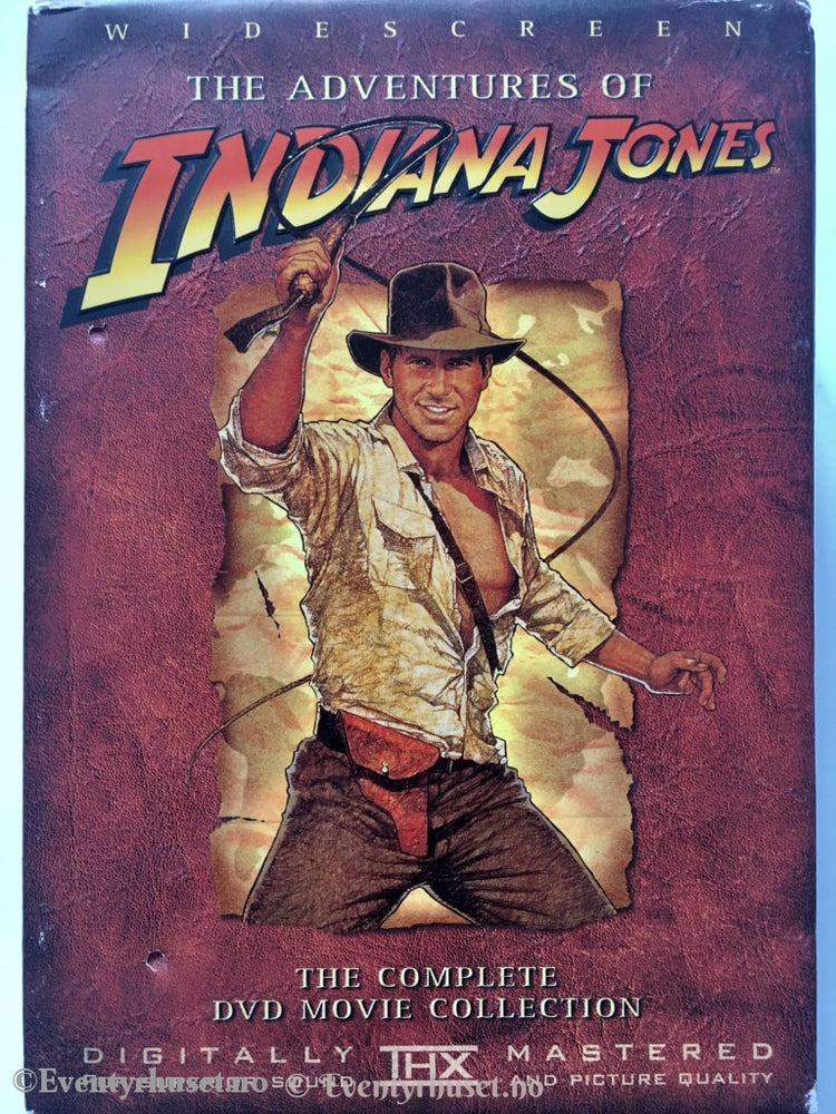 The Adventures Of Indiana Jones. Complete Dvd Movie Collection. Dvd.