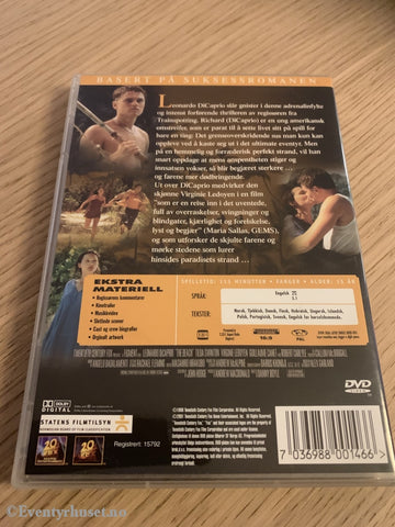 The Beach. 1999. Dvd. Dvd