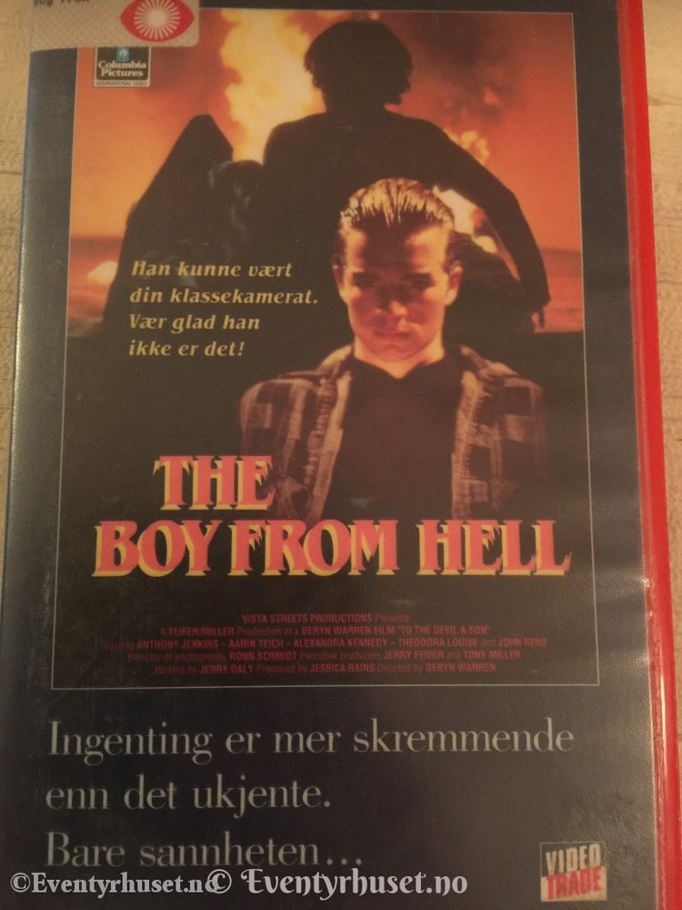 The Boy From Hell. Vhs Big Box.
