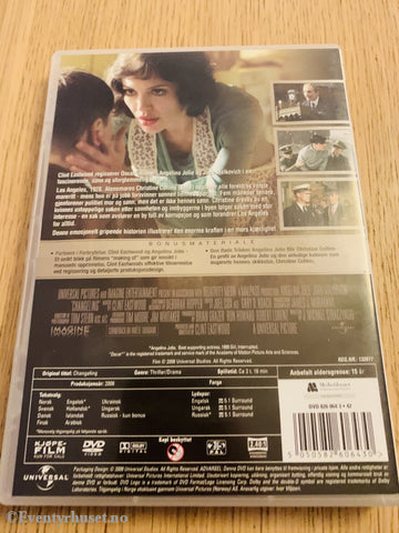 The Changeling. 2008. Dvd. Dvd