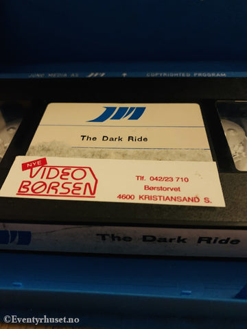 The Dark Ride. Vhs Big Box.