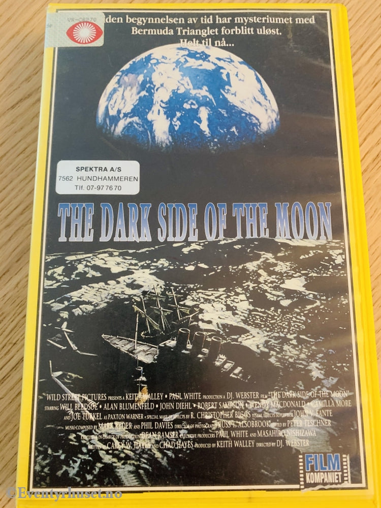 The Dark Side Of Moon. 1989. Vhs Big Box.