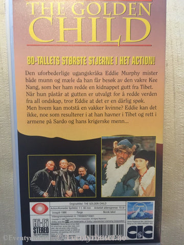 The Golden Child. 1986. Vhs. Vhs