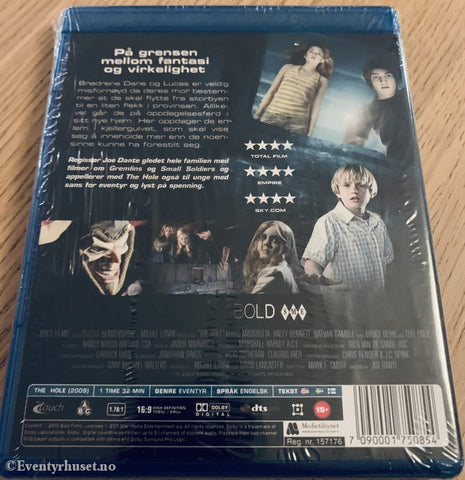 The Hole. Blu-Ray Ny I Plast! Blu-Ray Disc